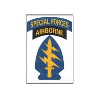 Adesivo Special Forces Airborne